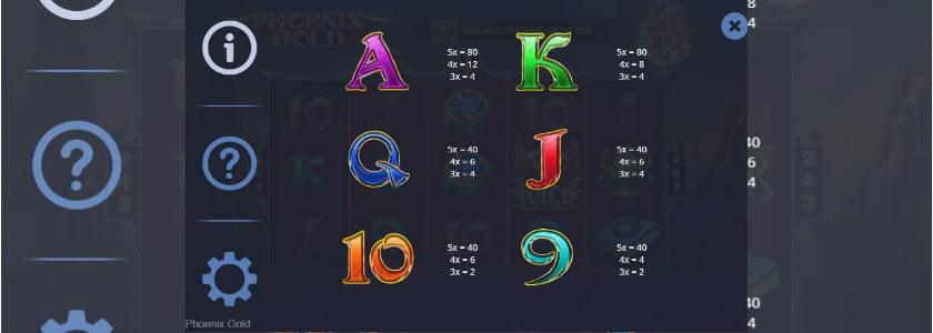 Phoenix Gold - symbols 2