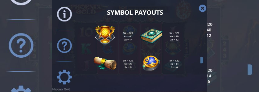 Phoenix Gold - symbols 1