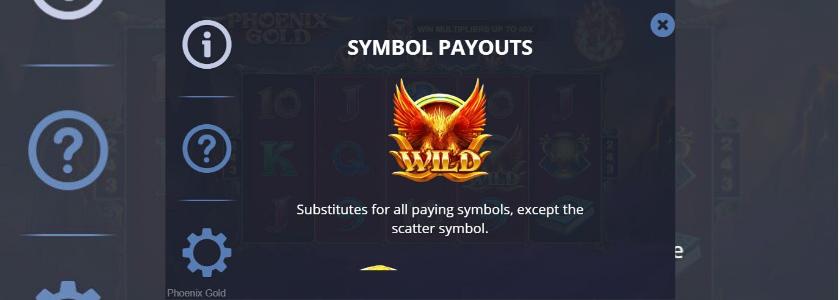 Phoenix Gold - symbols wild