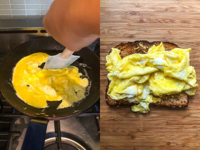 สูตรไข่กวน 3 แบบ โดย Jamie Oliver
